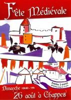 affiche fete medievale