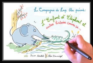 «L'enfant d'Eléphant et autres histoires comme ça»